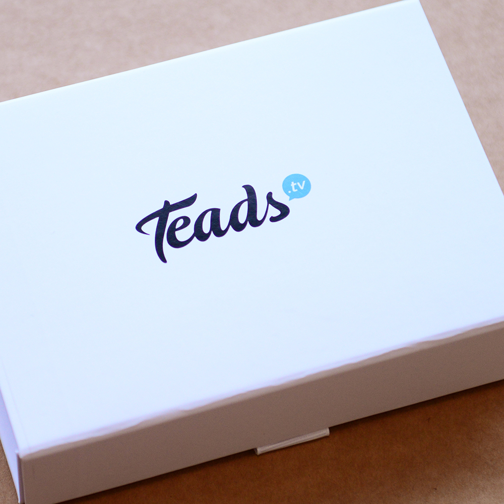 custom printed and personalised packaging - Teads