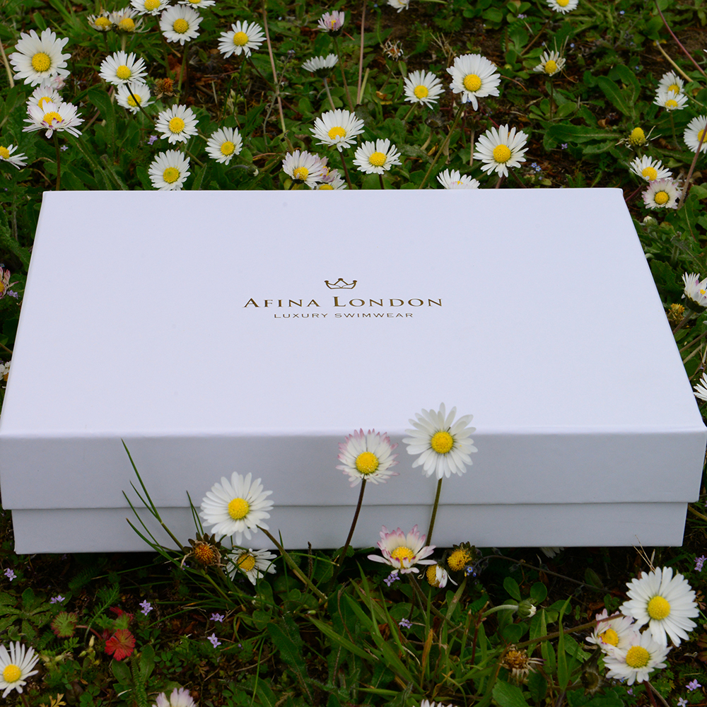 Afina London Personalised Packaging