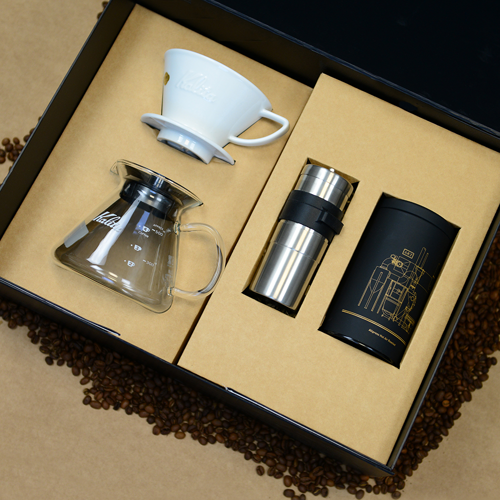 All press coffee personalised packaging