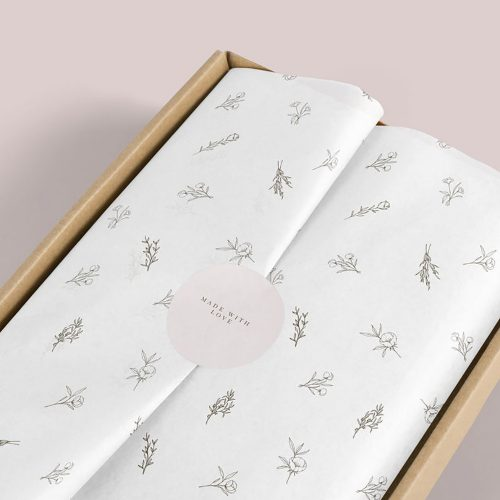 Printed Tissue Paper, Eco Friendly, Custom