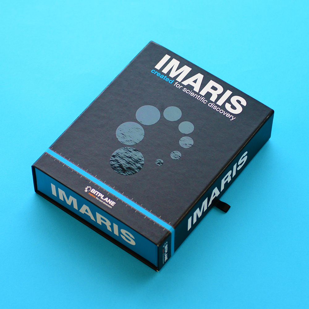 Imaris personalised packaging