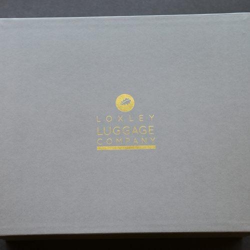 Loxley Luggage Personalised Packaging