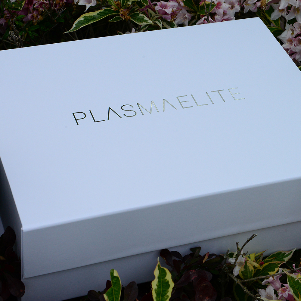 Plasmaelite Personalised packaging