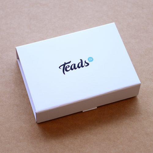 custom printed and personalised packaging - Teads