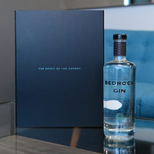Personalised packaging gin