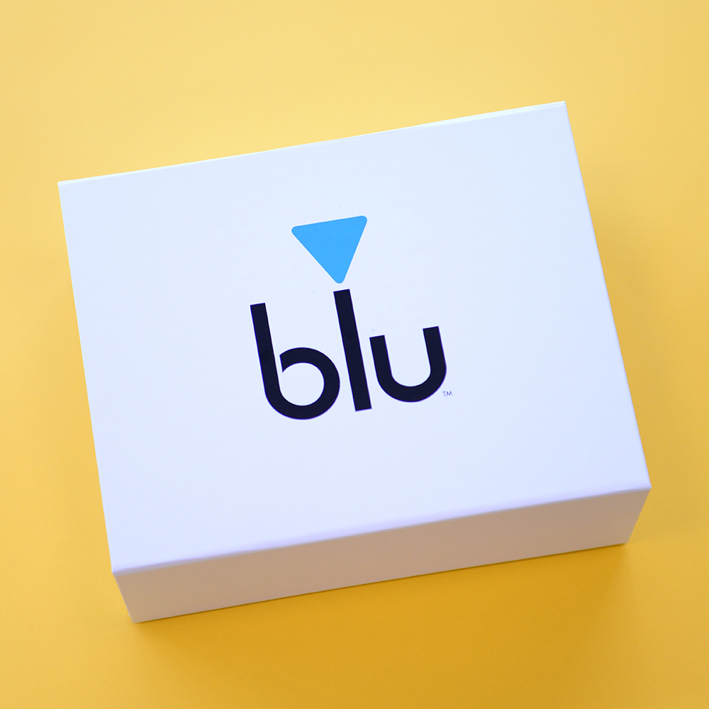 Blu Personalised Packaging