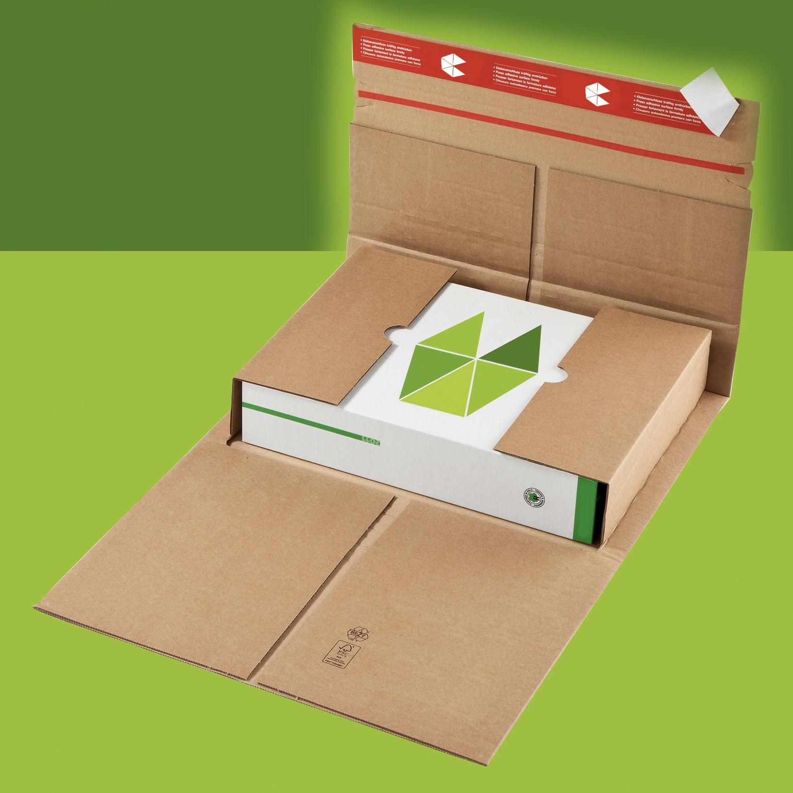 Custom mailing book wraps