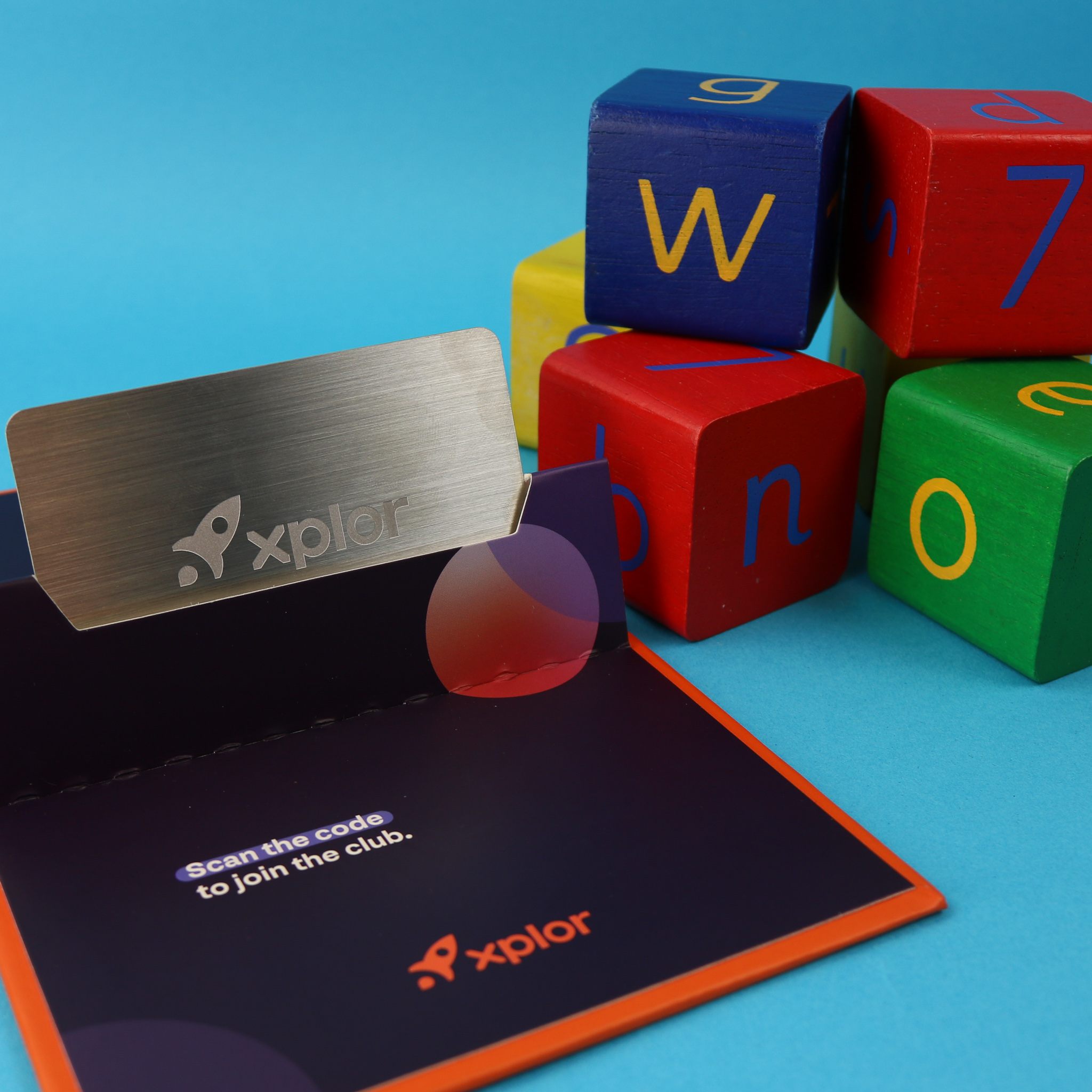 Metal membership cards with holder